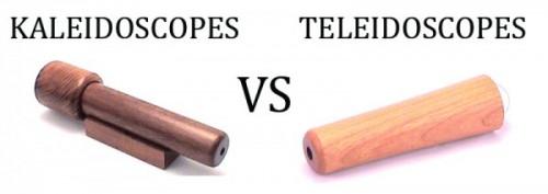 Kaleidoscopes vs Teleidoscopes